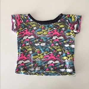 Neon Geometric Bright T-shirt
